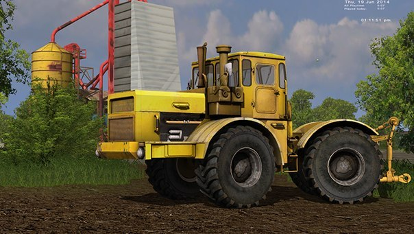 Трактор К-701 » Бесплатные моды для Farming Simulator 2013