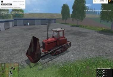 Мод МТЗ - 80 v1.0 - Погрузчик стогомет для Farming.